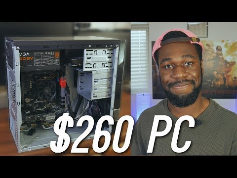 "The $260 ""Ryzen 7 Ready"" Gaming PC 2017 - Is an AM4 APU Gaming PC worth it?"