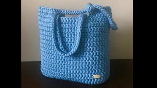 Crochet Tote Bag  Beginner Friendly