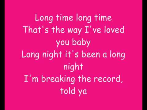 Shakira Long time (lyrics)