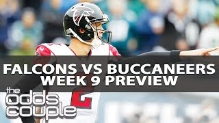 Falcons vs Buccaneers (Week 9) | Odds Couple & Doug Upstone | Betting Preview & Free NFL Picks