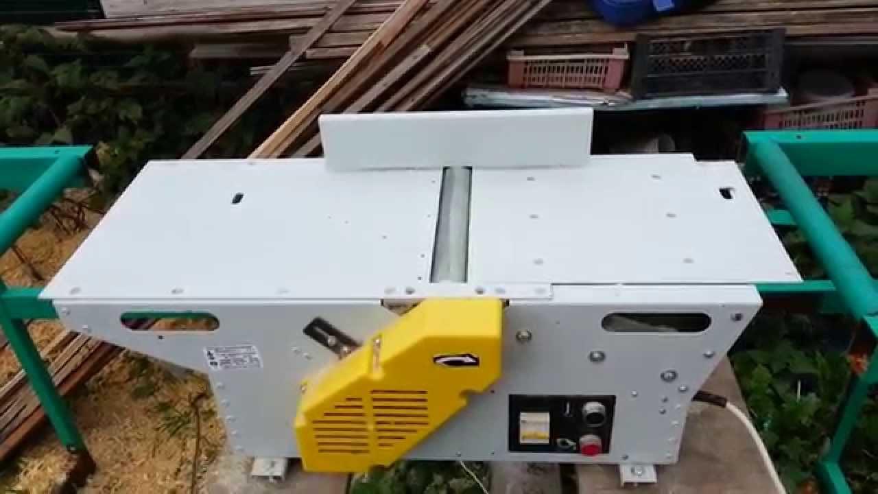 Обзор самодельного фуговально,циркулярного,токарного станка - YouTube