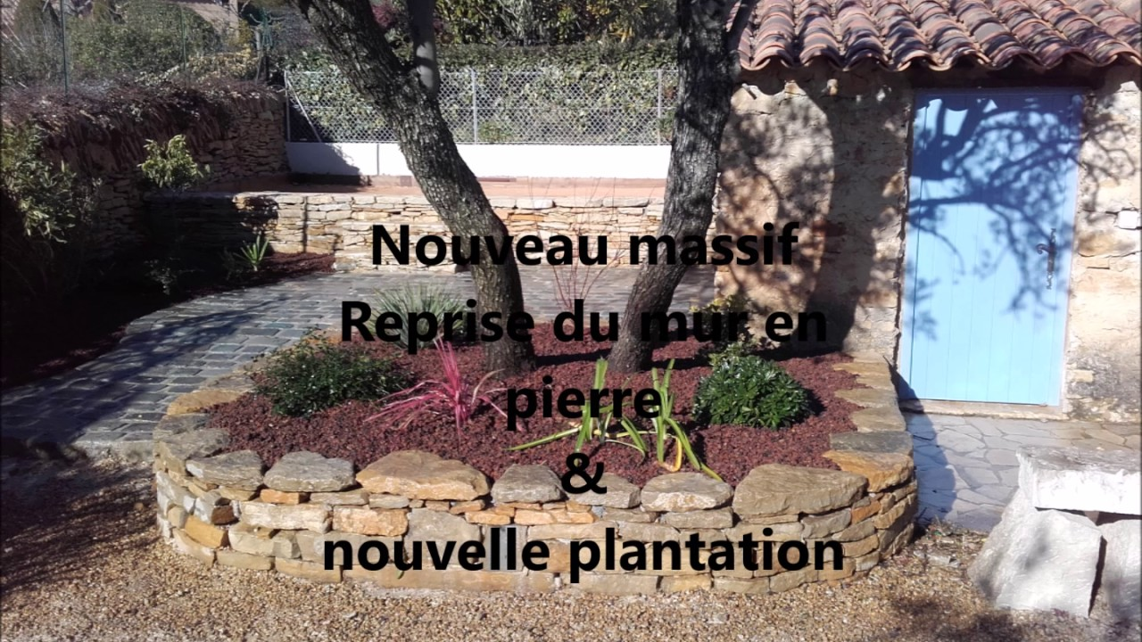 Reamenagement De Jardin Et Creation D Un Terrain De Boule Youtube