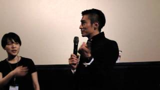 伊勢谷友介在2012/6/29應台北電影節邀請,在新光影城.