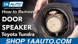 How to Replace Door Speaker 00-06 Toyota Tundra