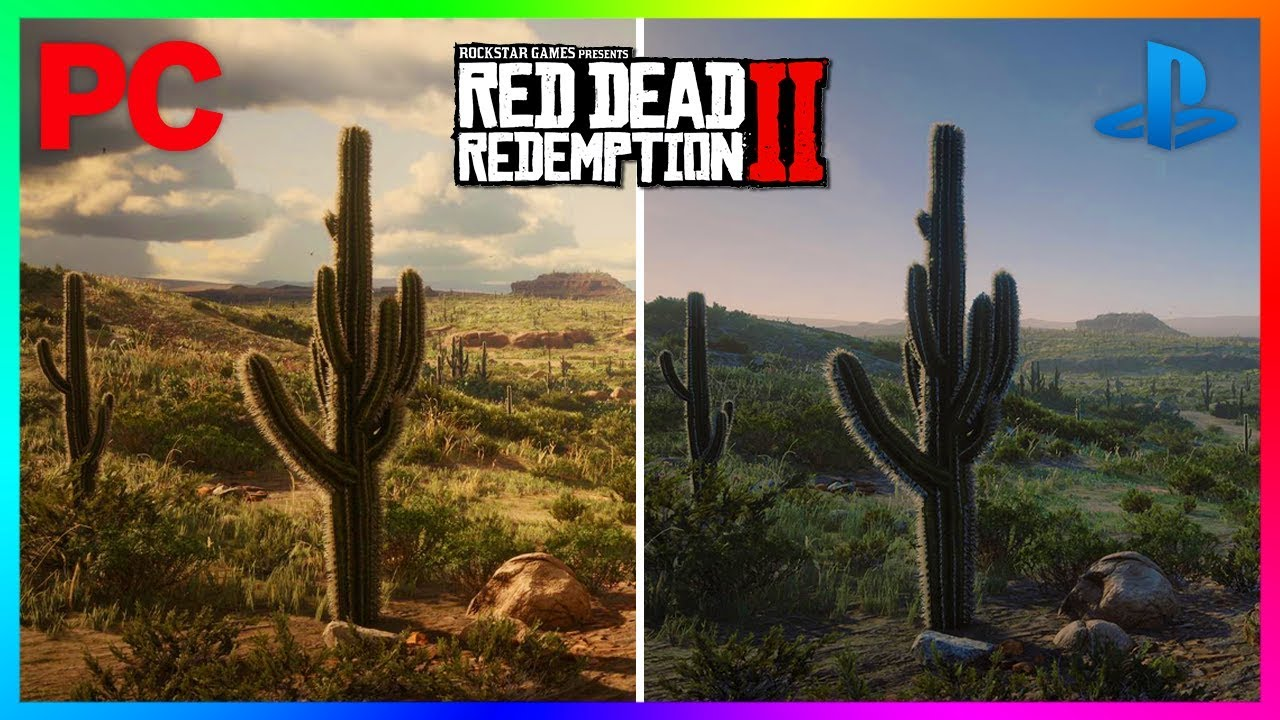 Red Dead Redemption 2 - PS4 Pro VS Xbox One X VS PC ...Ps4 Graphics Card Vs Xbox One Graphics Card