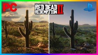 Red Dead Redemption 2 - PS4 Pro VS Xbox One X VS PC Graphics Comparison! (RDR2 4K 60FPS)