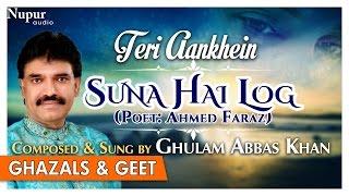 Suna Hai Log | Ghulam Abbas Khan | Teri Aankhein | Romantic Collection Of Ghazals & Geet