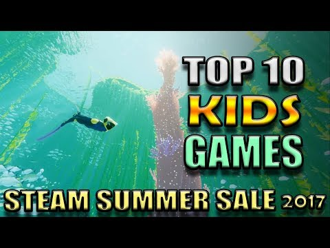 Top 10 Kids Games on Steam PC for under $10 - Steam Summer Sale 2017