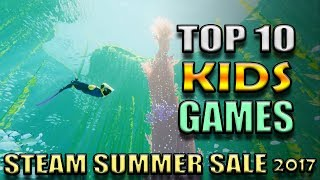 Video Top 10 Kids Games on Steam PC for under $10 - Steam Summer Sale 2017 download MP3, 3GP, MP4, WEBM, AVI, FLV Agustus 2018