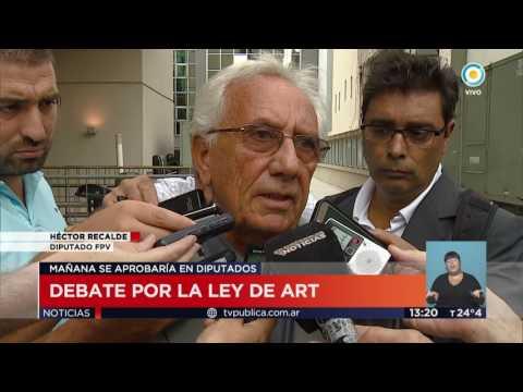 TV Pública Noticias - Dictámen por ley modificación ART