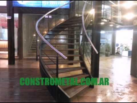 Fabrica de escaleras herrer a youtube for Escaleras de herreria