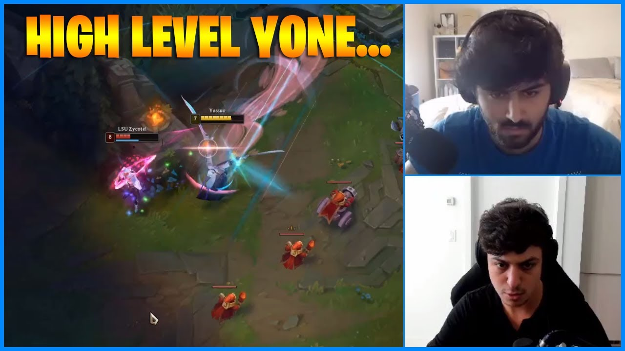 Yassuo Shows How Yasuo Main Plays Yone...LoL Daily Moments Ep 1091