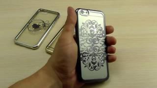 ОБЗОР: Гламурный Силиконовый Чехол-Накладка для iPhone 6/6s
