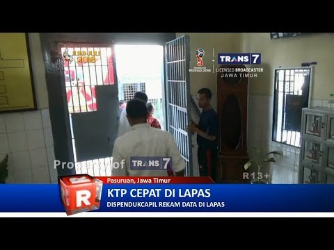 TRANS7 JATIM - Jemput Bola E KTP di Lapas Pasuruan