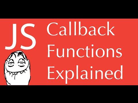 javascript callback functions tutorial