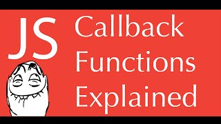 javascript callback functions tutorial