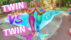 ULTIMATE MERMAID BATTLE | TWIN VS TWIN