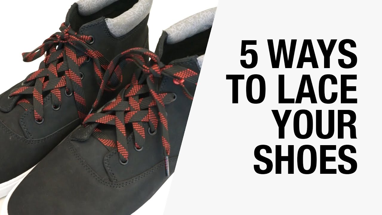 5 Ways How To Lace And Tie Your Shoes Lattice Bar Train Track Knots Hashtag Chictopia You
