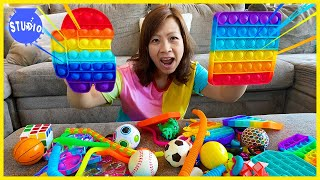 My Ultimate Fidget toys Pop it Collection!!