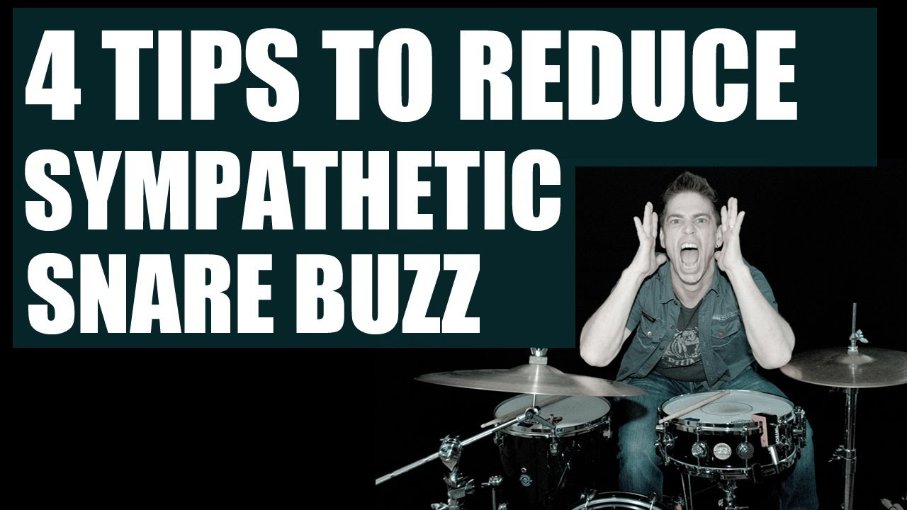 Getting Rid Of Unwanted Snare Drum Buzz Part 2: The Tune Around