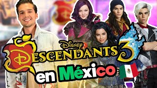 Fui a la PREMIER de Descendientes 3 en México !! / Memo Aponte