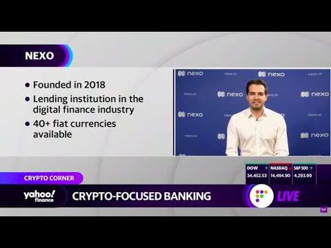 """Download """"Nexo Is Safer Than Your Average Bank"""" - Antoni Trenchev on Yahoo Finance Live"""