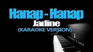 HANAP-HANAP - James Reid & Nadine Lustre (KARAOKE VERSION)