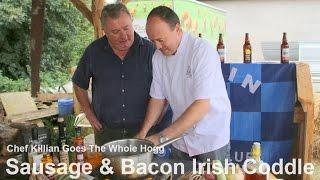 Irish Coodle with Blackpepper & Sea Salt Pork Sausage & Smoked Bacon