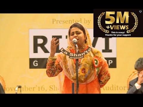 10. Shabeena Adeeb – Andaaz-E-Bayaan-Aur Mushaira 2016 – 4K & HD - Dubai