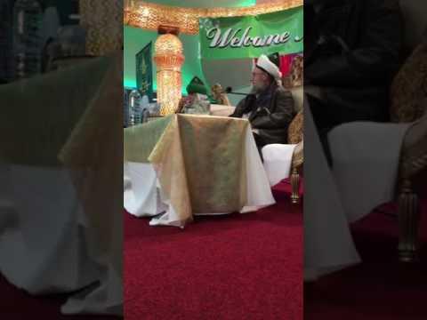 Mawlana Shaykh Mehmet Adil Arrabani efendi in Birmingham 2016