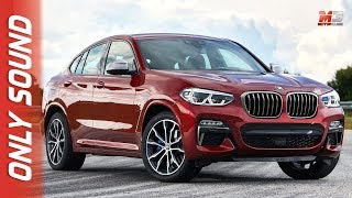 New BMW X4 M40D 2018 - first test drive only sound