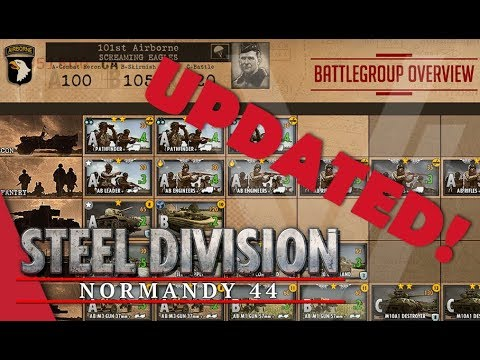 UPDATED! 101st Airborne (Screaming Eagles) - Steel Division: Normandy 44 Battlegroup Overview #12