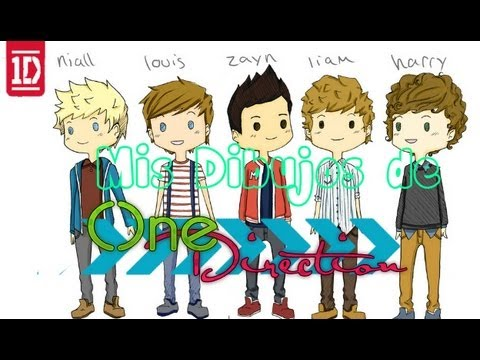 Mis Dibujos De One Direction 2013 Youtube