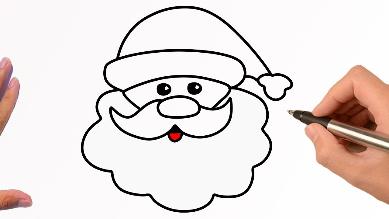 how to draw santa claus easy step by step easy drawing tutorial youtube how to draw santa claus easy step by step easy drawing tutorial