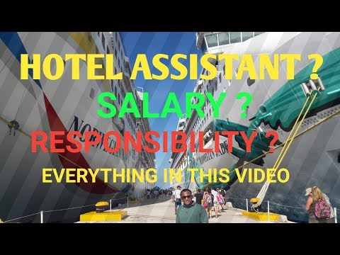 Hotel Assistant || Salary Of Hotel Assistant