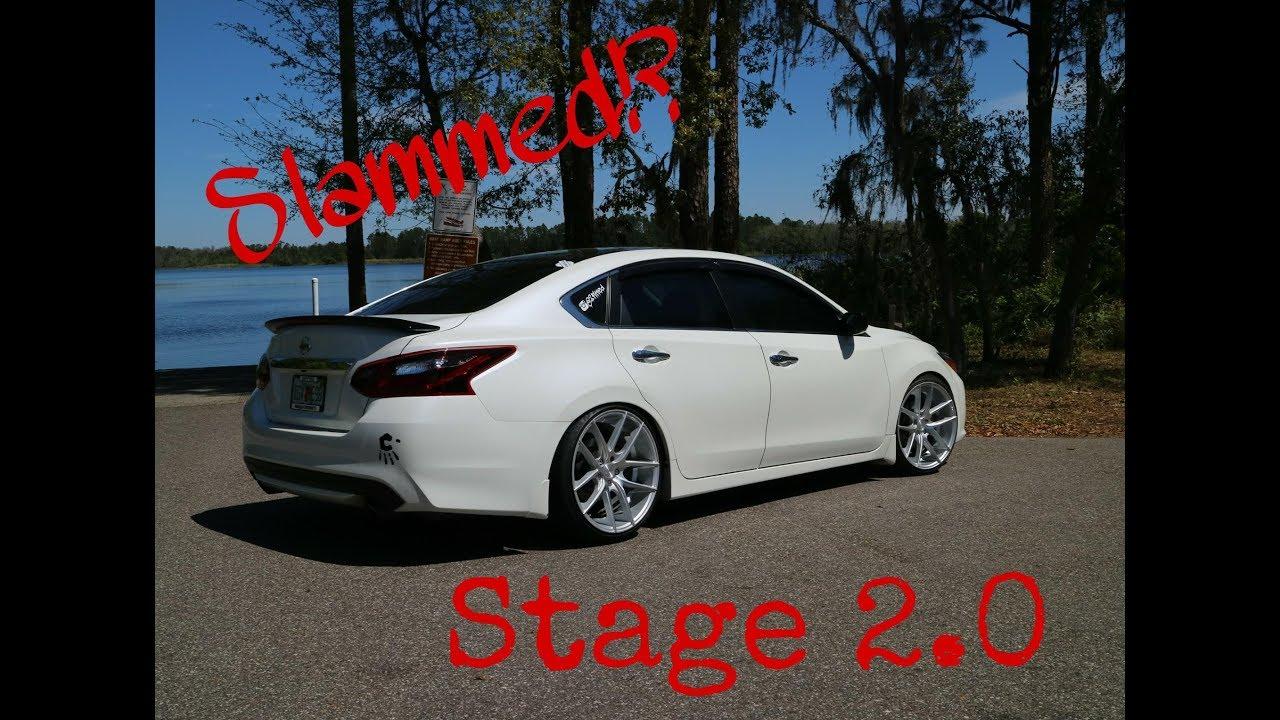 2017 Nissan Altima Sr Midnight Edition Stage 2 0 Youtube