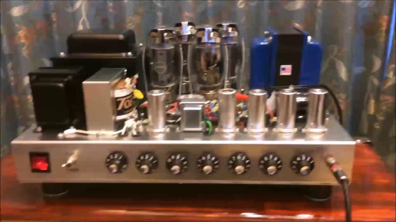 DIY Guitar Tube Amp (100W) & Hemp Speakers - YouTube