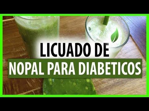 jugo de cactus y diabetes