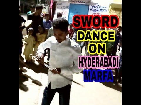 CHAUSH DANCING ON MARFA BEATS || HYDERABADI MARFA || SWORD DANCE ||