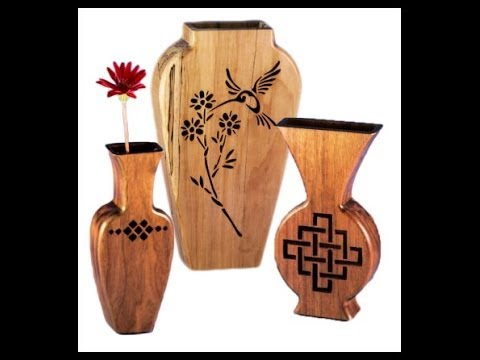Beautiful Vases On The Scroll Saw Youtube