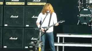 Megadeth - Public Enemy No. 1 (Live - Download Festival, Donington, UK, June 2012)