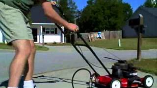 Gasoline mower to propane conversion - Part 1 of 3