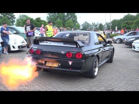 JDM + Tuner Car Meet – Supra 2JZ, CRAZY RX-7, Skyline R33, Civics etc