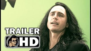 THE DISASTER ARTIST Official Trailer (2017) James Franco, Seth Rogen The Room Movie HD