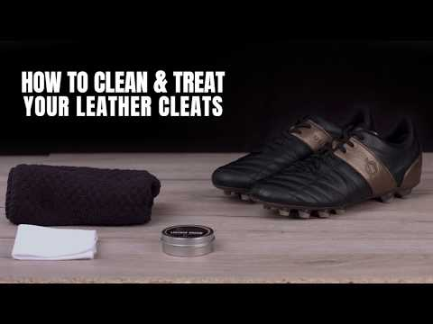 UNOZERO - How to clean your leather cleats/boots