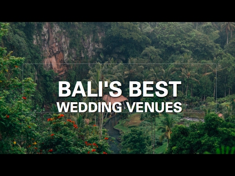 Selecting Bali's Best Venues