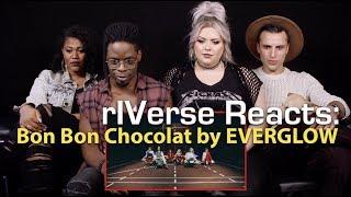rIVerse Reacts: Bon Bon Chocolat by EVERGLOW - M/V Reaction