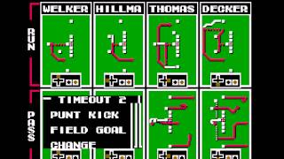 Tecmo Super Bowl 2014 (tecmobowl.org hack) - Netplay tournament Spaceman vs play4fun - User video