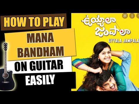 Mana Bandham - Guitar Tutorial - Telugu Guitar Songs