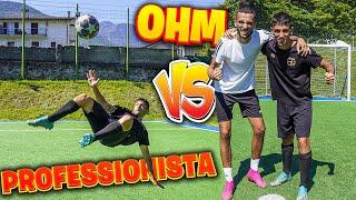 ⚽ HO SFIDATO UN CALCIATORE PROFESSIONISTA! | FOOTBALL CHALLENGE